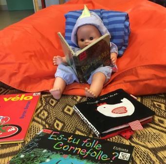 Visuel des bébés lecteurs